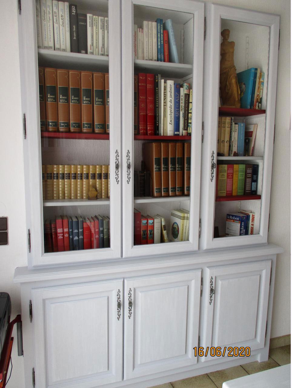 restauration de bibliothèque-perpignan